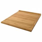 ЛЭМПЛИГ Разделочная доска, бамбук, 46x53 см