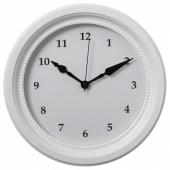 СЁНДРУМ Настенные часы, белый
