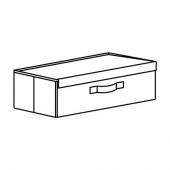 ФУЛЛСМОКАД Коробка для обуви, 51x27x15 см