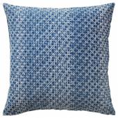 ДАГГРУТА Чехол на подушку, синий, 50x50 см