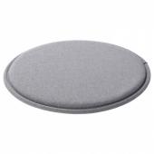 СУННЕА Подушка на стул, серый, 36x2.5 см