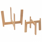 НЮСКЁРДАД Подставка для кашпо, 2 шт., бамбук