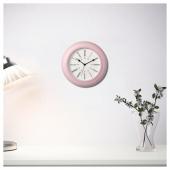 СКАЙРОН Настенные часы, розовый, 30 см