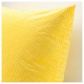 ВЕНЧЕ Чехол на подушку, ярко-желтый, 50x50 см