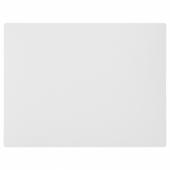 ЛУРВИГ Подстилка под миску д/дом животных, светло-серый, 28x36 см