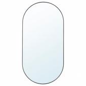 ЛИНДБЮН Зеркало, черный, 60x120 см