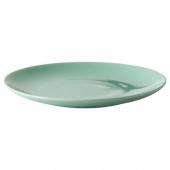 ФЭРГРИК Тарелка десертная, каменная керамика, светло-зеленый, 21 см