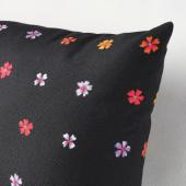 СОММАРБИНКА Подушка, черный, разноцветный, 30x58 см