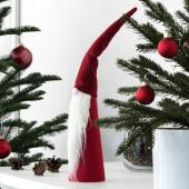 ВИНТЕР 2020 Украшение, конусообразный, Санта Клаус красный, 46 см
