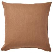 ВИГДИС Чехол на подушку, светло-коричневый, 50x50 см