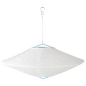 СОЛВИДЕН Подвесная светодиодная лампа, для сада шаровидный, в форме алмаза, 45 см