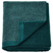 ХИМЛЕОН Простыня банная, бирюзовый, меланж, 100x150 см