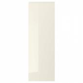 ВОКСТОРП Дверь, глянцевый светло-бежевый, 40x120 см