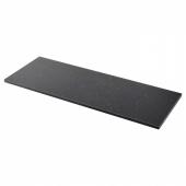 СЭЛЬЯН Столешница, черный под мрамор, ламинат, 186x3.8 см