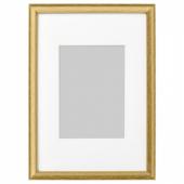 СИЛВЕРХОЙДЕН Рама, золотой, 21x30 см