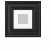 СКАТТЭБЮ Рама, черный, 20x20 см