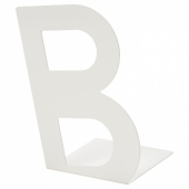 БУСБАССЕ Ограничитель для книг, белый