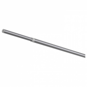 РЭККА Карниз гардинный, серебристый, 120-210 см