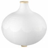 РИСБЮН Абажур для подвесн светильника, в форме луковицы, белый, 57 см