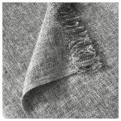 ИНГРУН Плед, серый, 130x170 см