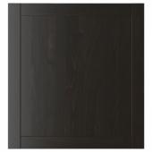 ХАНВИКЕН Дверь, черно-коричневый, 60x64 см