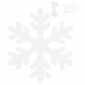 СТРОЛА Подвесной светильник, светодиодный, с батарейным питанием, снежинка
