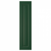 БУДБИН Дверь, темно-зеленый, 20x80 см