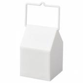 СКАЙХОГТ Светодиодный фонарь, с батарейным питанием, д/дома/улицы белый, 11 см