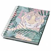 ИЛЛБАТТИНГ Блокнот, разноцветный, тигр, 21x16 см