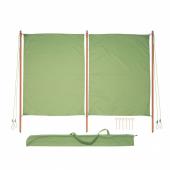СОЛБЛЕКТ Тент от солнца/ветра, зеленый, 194 см