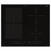 СМАКЛИГ Индукц варочн панель, ИКЕА 500 черный, 59 см