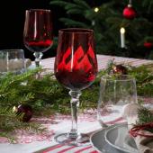 ВИНТЕР 2020 Бокал для вина, прозрачное стекло, красный, 33 сл