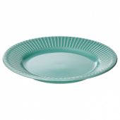 СТРИММИГ Тарелка десертная, бирюзовый, 21 см