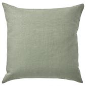 АЙНА Чехол на подушку, светло-зеленый, 50x50 см