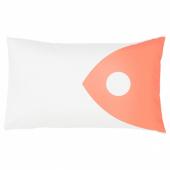 МУССЕЛЬБЛОММА Чехол на подушку, разноцветный, 40x65 см