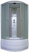 Душевая кабина, Aquapulse, 4202D fabric white 90*90*220