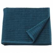 ВОГШЁН Банное полотенце, темно-синий, 70x140 см