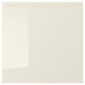 ВОКСТОРП Дверь, глянцевый светло-бежевый, 40x40 см