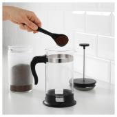 УПХЕТТА Кофе-пресс/заварочный чайник, стекло, нержавеющ сталь, 1 л