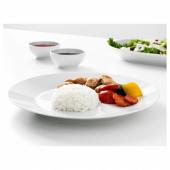 ИКЕА/365+ Тарелка, белый, 27 см