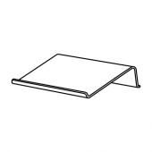 БРЭДА Подставка для ноутбука, черный, 42x31 см