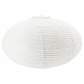СОЛЛЕФТЕО Абажур для подвесн светильника, круглой формы белый