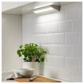 СЛАГСИДА Светодиодная подсветка столешницы, белый, 40 см