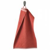 ВИКФЬЕРД Полотенце, красный, 30x50 см