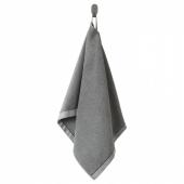 ВИКФЬЕРД Полотенце, серый, 50x100 см