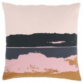 ЭЛЬДТЁРЕЛ Чехол на подушку, розовый, разноцветный, 50x50 см