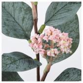 СМИККА Цветок искусственный, эвкалипт розовый, розовый, 30 см