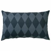 МАЙЛИНН Чехол на подушку, синий, разноцветный, 40x65 см