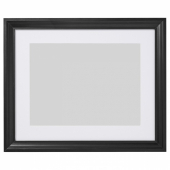 ЭДСБРУК Рама, черная морилка, 40x50 см