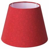 СТРОЛА Абажур, цветок красный, 21 см